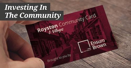Ensum Brown Community Card